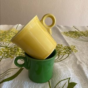 Fiesta HLC Coffee Mugs